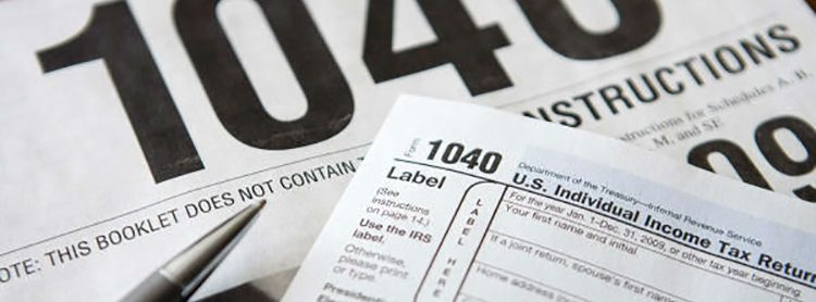 IRS Form 1040 - US Tax